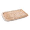Majestic Pets Honey Faux Fur and Polyester/Cotton Rectangular Dog Bed