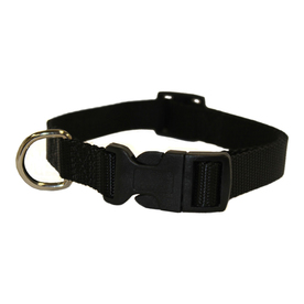 Majestic Pets Black Nylon Dog Collar