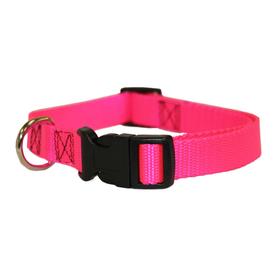 Majestic Pets Pink Nylon Dog Collar