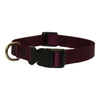 Majestic Pets Burgundy Nylon Dog Collar