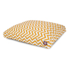 Majestic Pets Yellow/White Polyester Rectangular Dog Bed
