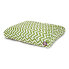 Majestic Pets Sage/White Polyester Rectangular Dog Bed