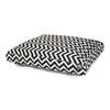 Majestic Pets Black/White Polyester Rectangular Dog Bed