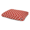 Majestic Pets Red/White Polyester Rectangular Dog Bed