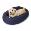 Majestic Pets Blue Polyester/Cotton Twill Oval Dog Bed