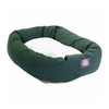 Majestic Pets Green Polyester/Cotton Twill Oval Dog Bed
