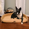 ABO Gear Tan Natural Cotton Dog Bed