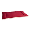 Great Paw Red Sherpa Fleece and Cotton Rectangular Dog Bed