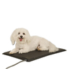 K&H Manufacturing Black Abs Plastic Rectangular Dog Bed