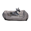 K&H Manufacturing Black Rectangular Dog Bed