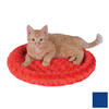 K&H Manufacturing Blue Polyester Round Cat Bed