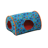 K&H Manufacturing Fish/Orange Polyester/Cotton and Soft Fleece Cat Bed