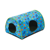 K&H Manufacturing Fish/Green Polyester/Cotton and Soft Fleece Cat Bed