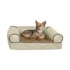 K&H Manufacturing White Chocolate Rectangular Dog Bed