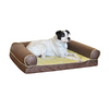 K&H Manufacturing Milk Chocolate Rectangular Dog Bed