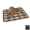 K&H Manufacturing Brown Plaid 600 Denier Nylon Rectangular Dog Bed