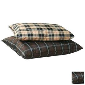 K&H Manufacturing Brown plaid  Rectangular Dog Bed