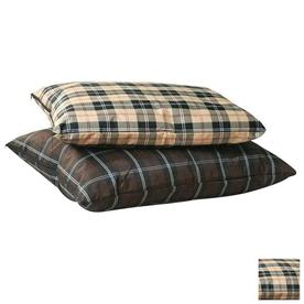 K&H Manufacturing Tan plaid  Rectangular Dog Bed
