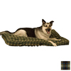 K&H Manufacturing Blue Plaid Polyester/Cotton Rectangular Dog Bed