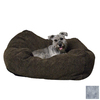 K&H Manufacturing Gray Polyester Square Dog Bed