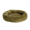 midwest pets Sage Synthetic Fur Round Dog Bed