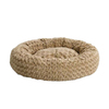 midwest pets Taupe Synthetic Fur Round Dog Bed
