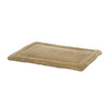 midwest pets Taupe Micro Terry Rectangular Dog Bed
