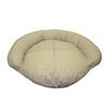 Carolina Pet Company Khaki Cotton Canvas Oval Dog Bed