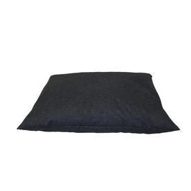 Carolina Pet Company Solid Blue Polyester Rectangular Dog Bed