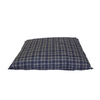 Carolina Pet Company Blue Plaid Polyester Rectangular Dog Bed