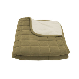 Carolina Pet Company Sage Microfiber Rectangular Dog Bed