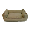 Carolina Pet Company Khaki Polyester Rectangular Dog Bed