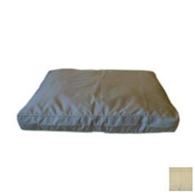 Carolina Pet Company Khaki Rectangular Dog Bed