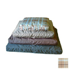Carolina Pet Company Blue/Brown Plaid Rectangular Dog Bed
