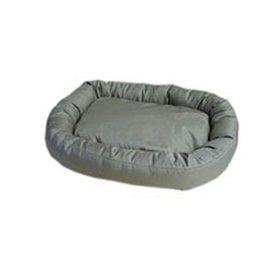 Carolina Pet Company Khaki Oval Dog Bed