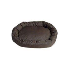 Carolina Pet Company Chocolate Oval Dog Bed