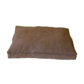 Carolina Pet Company Saddle Microfiber Rectangular Dog Bed