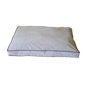 Carolina Pet Company Linen Microfiber Rectangular Dog Bed