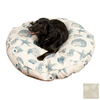 Snoozer Shells Polyester/Cotton Round Dog Bed