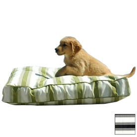 Snoozer Black Rain Rectangular Dog Bed