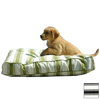 Snoozer Black Rain Floral Rectangular Dog Bed