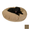 Snoozer Shona Brown Sugar Microsuede Round Dog Bed