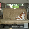 Snoozer 58-in Gray Fabric Seat Cover