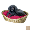 Snoozer Khaki Polyester/Cotton Oval Dog Bed