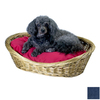 Snoozer Denim Polyester/Cotton Oval Dog Bed