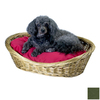 Snoozer Olive Polyester/Cotton Oval Dog Bed