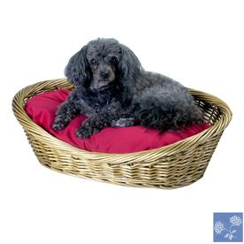 Snoozer Carolina Sky Polyester/Cotton Oval Dog Bed