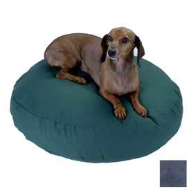 Snoozer Navy Polyester/Cotton Round Dog Bed