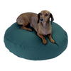 Snoozer Medium Blue Polyester/Cotton Round Dog Bed