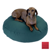 Snoozer Red Polyester/Cotton Round Dog Bed